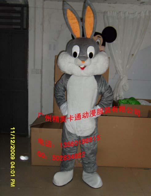 供应卡通服装,人偶服装,表演服装,动物服装,兔八哥