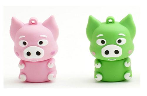 看到这款可爱的麦兜小猪u盘,你是否想起