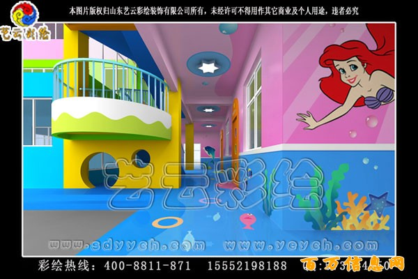幼儿园室外场地设计展示