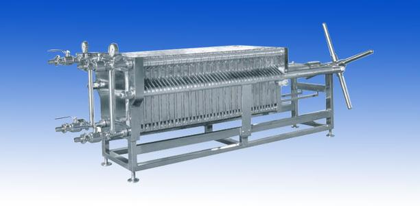压滤机结构与工作原理板框压滤机由交替排列的滤板和滤框构成一组