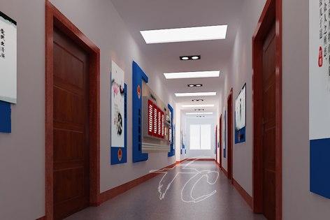 兰州企业展厅设计西宁企业展厅设