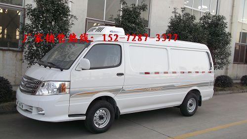 江铃医疗运输专用冷藏车价格高清图片