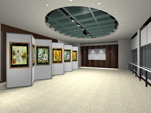 展览馆,博物馆,规划馆,陈列厅,企业展厅设计施工;商业空间展示设计图片