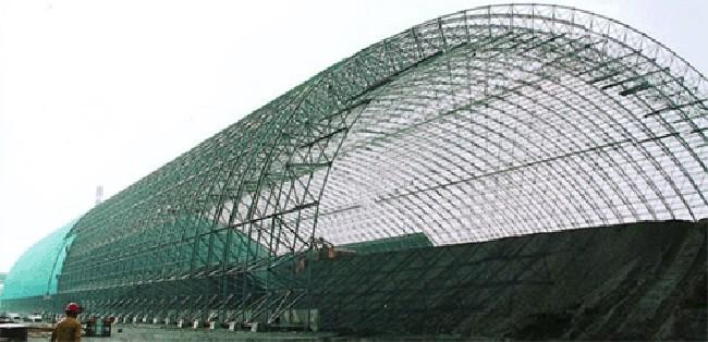 例如体育馆,飞机库