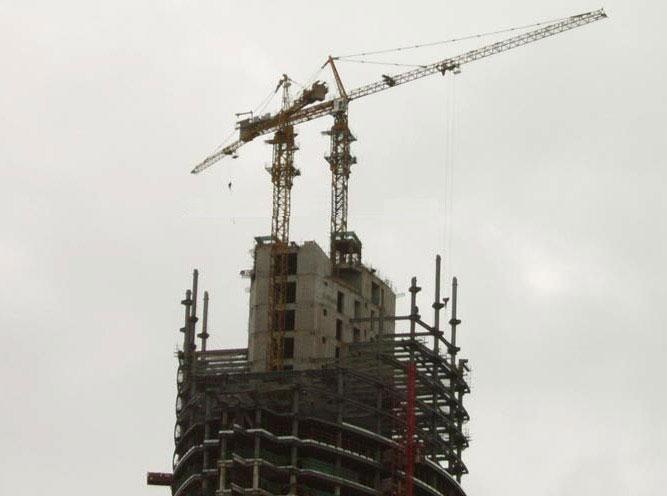 塔吊基础钢筋锚固做法