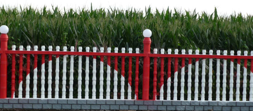 供应沈阳水泥艺术围栏