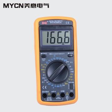万用表 数字万能表 万用电表 数显式万能电表 电子电工表