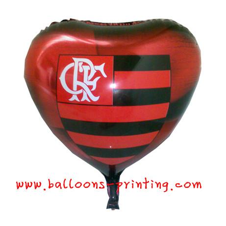 供应广告气球批发心形广告气球