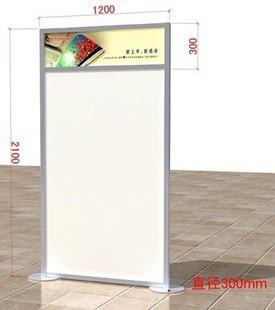 方柱广告牌 告示牌制作 八棱柱指示牌 展板宣传展示架