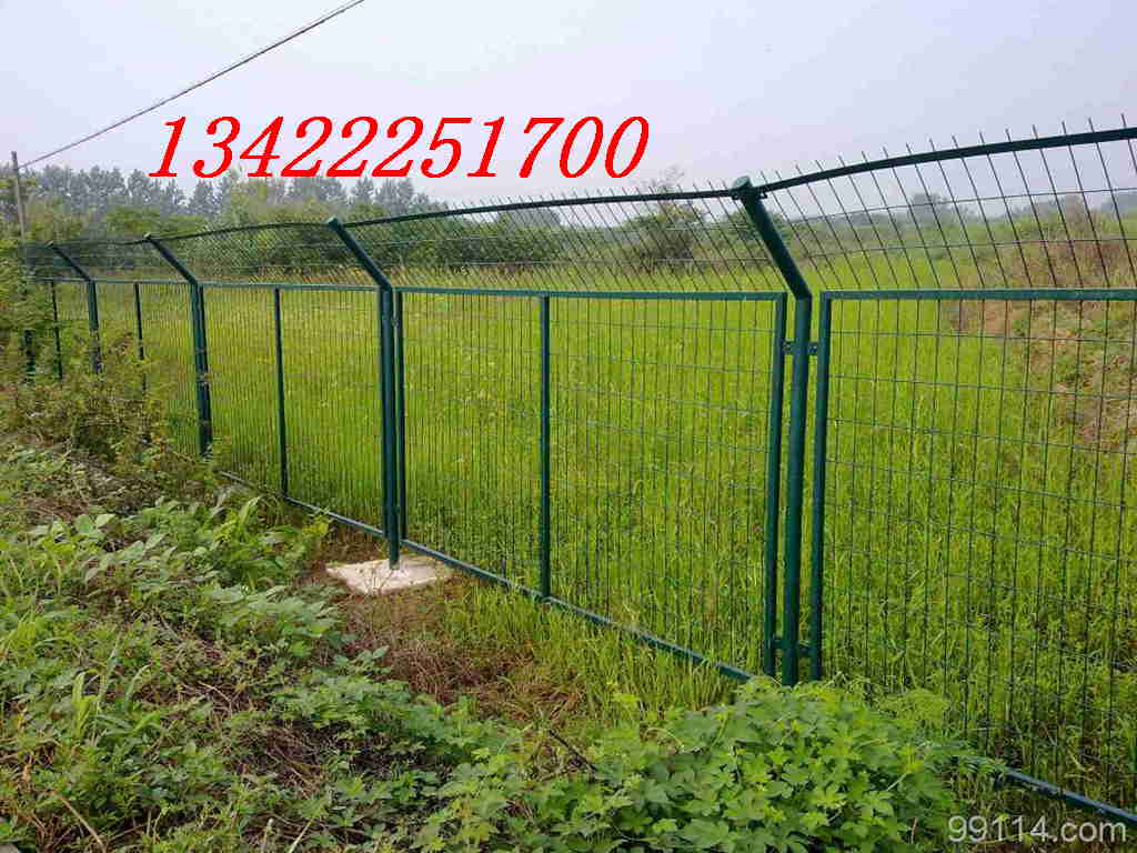 江门农业示范园铁丝网,江门动物园隔离网,镀锌勾花网