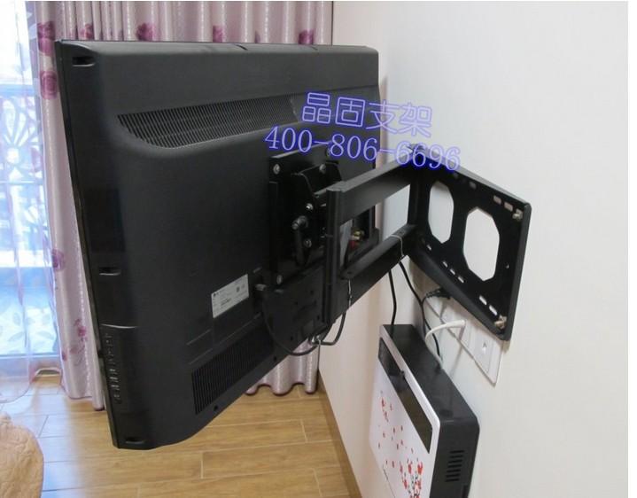 液晶电视怎么挂墙上_55寸电视挂墙安装图解