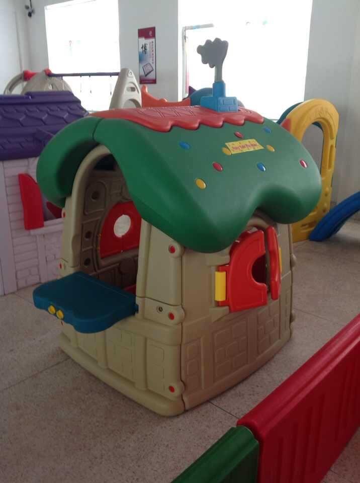 幼儿园小房子画画分享展示