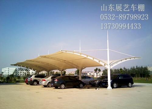 莱芜膜结构泰安车棚膜结构景观