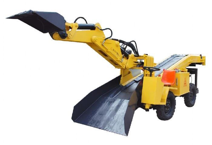型轮胎式挖掘装载机