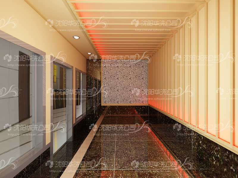 资深设计团队设计承接:桑拿洗浴设计装修,美容院,温泉度假村,温泉