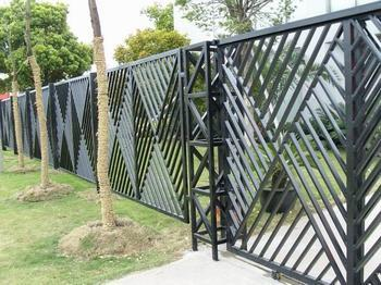 不锈钢围墙栏杆效果图
