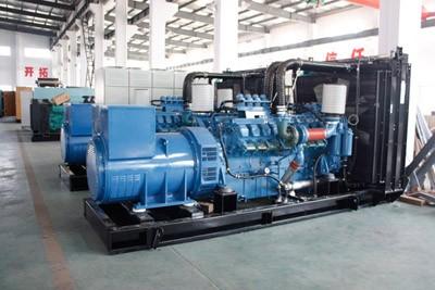德国进口奔驰发电机组500KW 2400KW