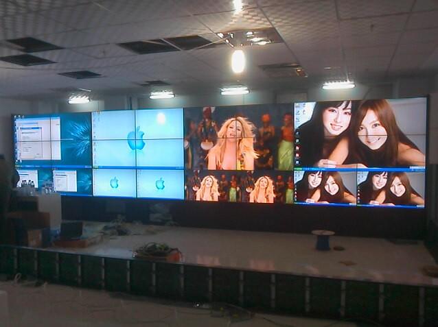烟台46寸液晶拼接屏,大屏幕厂家营销中心