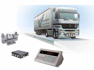 数字式模块化电子汽车衡是由数字化称重传感器,数字化称重显示器