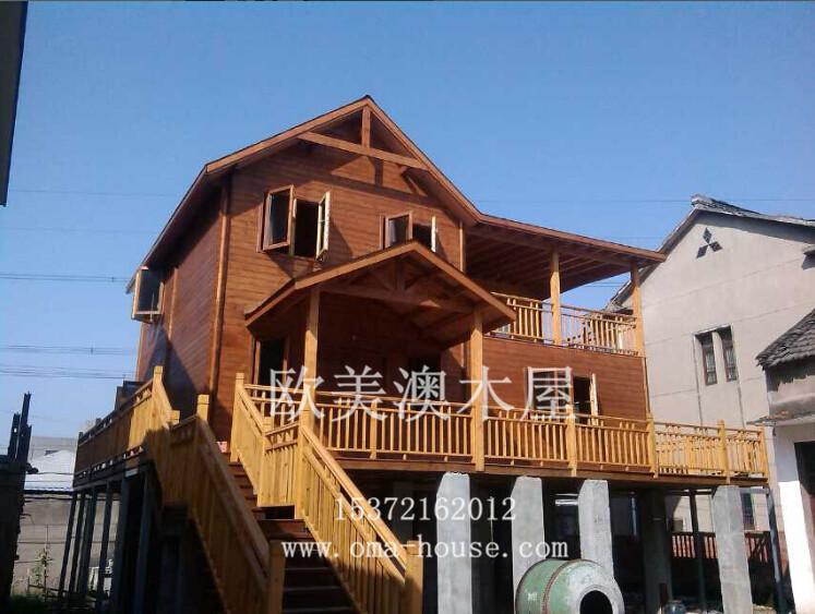 供应木房子,设计施工于一体,木结构房屋,景区木屋