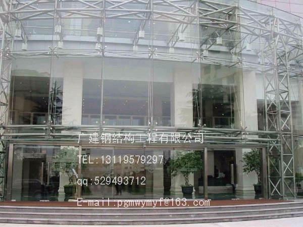 阳光板雨蓬,膜结构,玻璃幕墙,阳光房,玻璃房,车棚,天棚,钢结构仓库