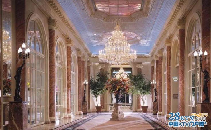 欧式宫廷走廊