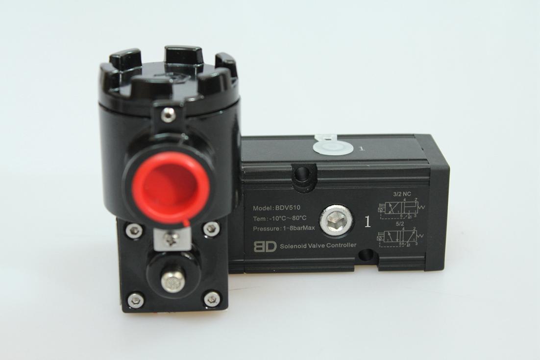 单电控bdv510c5电磁阀 ip66防护等级 铝外壳隔爆-ct6图片