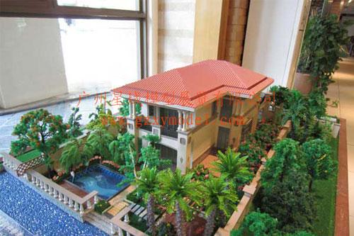 供应流水别墅模型制作