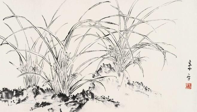 水墨竹子画法
