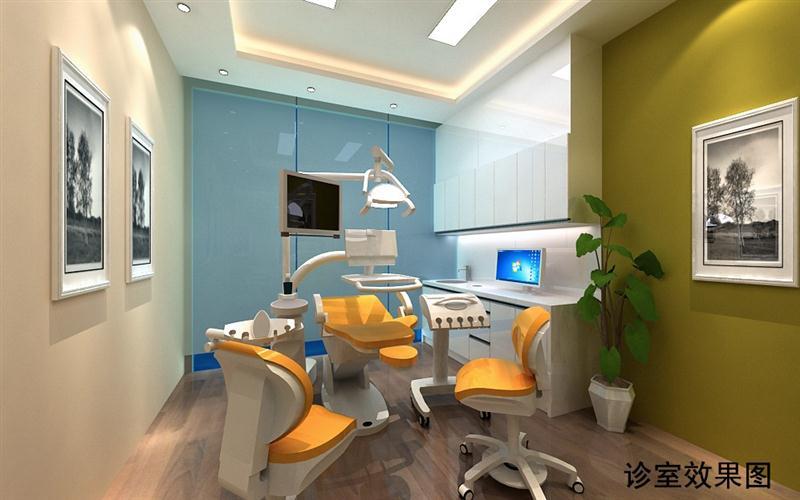 供应成都主题口腔诊所装修设计/专业口腔门诊部装修