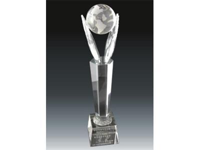供应水晶奖杯那家信誉好 宁派水晶奖杯定做价