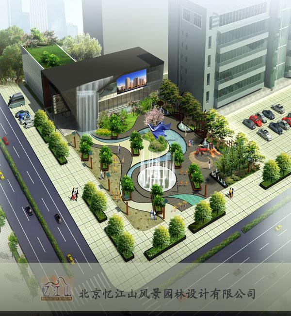 設計理念:本案基于文化廣場簡歐風格的建筑手法,結合城市廣場功能需