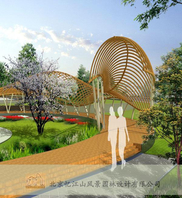 内蒙古包头广场景观设计项目图片