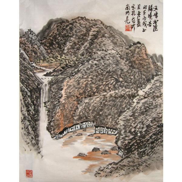 姜宝林花鸟画拍卖