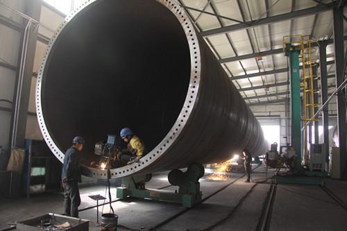风电塔筒及塔筒内饰件焊接钢结构如进入欧盟市场需通过ce认证,标准为