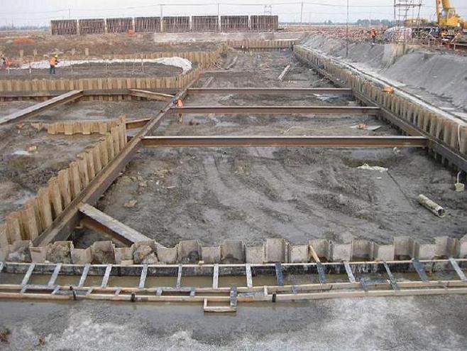 拉森桩出租,打拔施工,钢板桩基坑围护