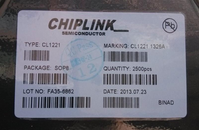 商业机会 电子元器件 集成电路(ic) >> cl1221      cl1221产品图片