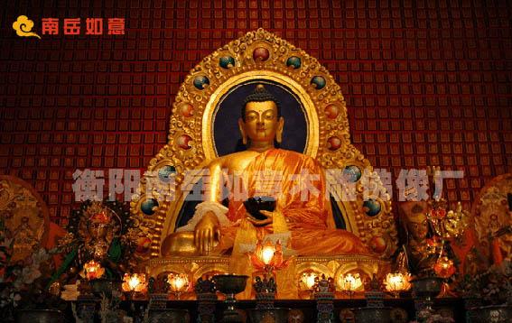 供应寺庙大型木雕佛像