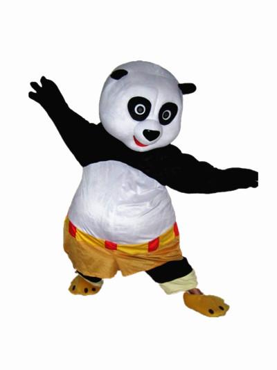 功夫熊猫卡通人偶服装