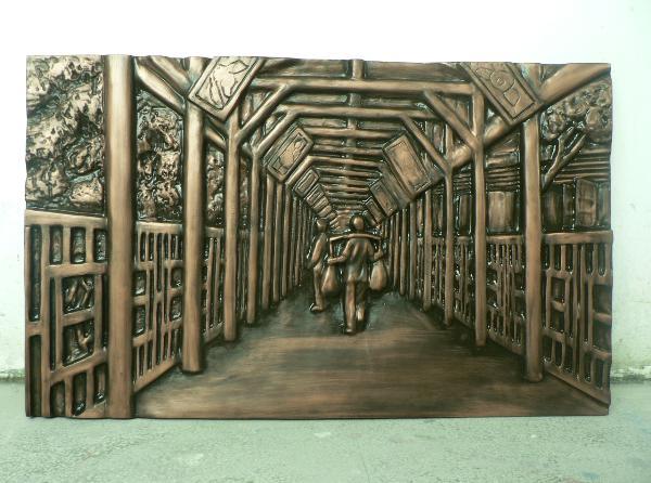 玻璃钢浮雕是雕塑的一种,壁画是墙壁上的艺术,即人们直接画在墙面上的画。玻璃钢浮雕壁画的概念属于雕塑的,也是属于壁画的。作为壁画的一种类型,玻璃钢浮雕艺术更具有立体感,是两维的。士永玻璃钢雕塑是专业生产玻璃钢浮雕的生产厂家,可以直接供应各种玻璃钢浮雕等玻璃钢雕塑,价格合理,而且有非常良好的售后保障服务。 玻璃钢浮雕:http://www.