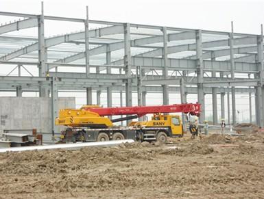 供应钢结构厂房制作安装厂家