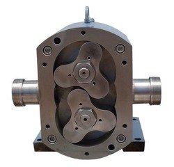 工作原理:该泵具有内齿(外转子)驱动内转子在全封闭的泵体内做同方向