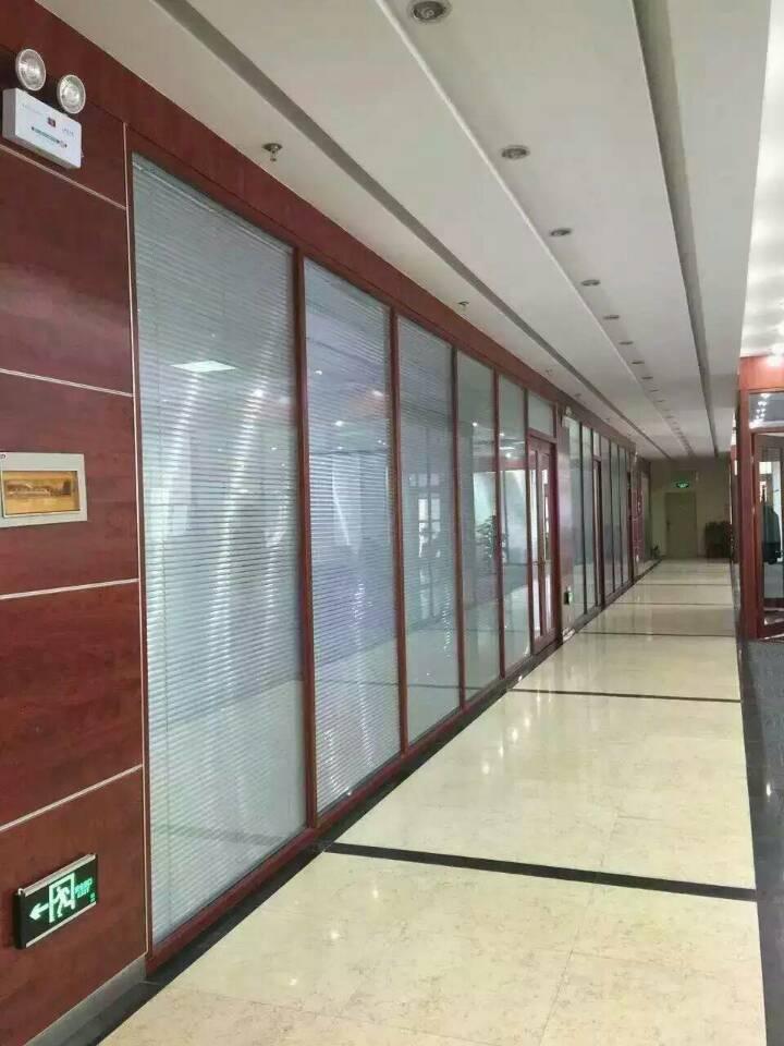 廊坊玻璃隔断厂家,办公室玻璃隔断设计,医院,磨砂单玻