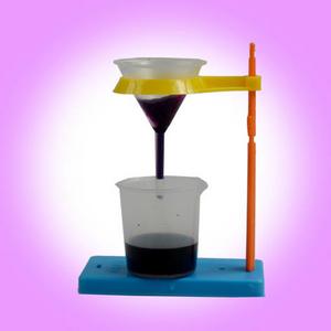 供应中小学生做溶解,过滤实验了解其在日常生活中的应用