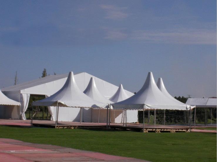 供应包头大型欧式帐篷图片