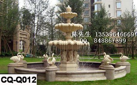 供应砂岩喷泉,砂岩水景雕塑,园林景观雕塑,砂岩叠水盆