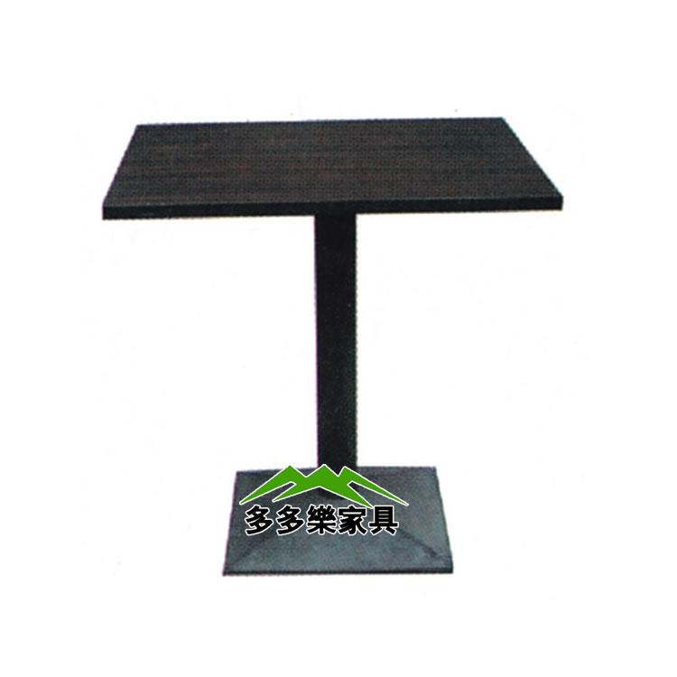 餐桌 现代简约咖啡桌 方桌欧式小餐桌