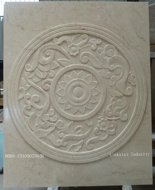 供应数控三维cnc大理石石材窗花雕刻