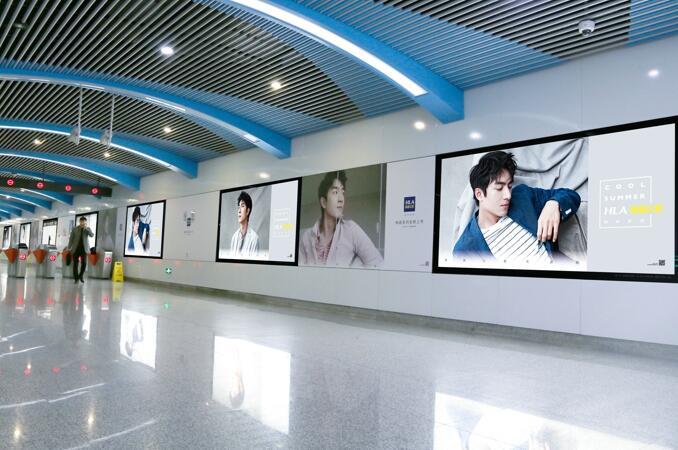 宁波地铁创意广告
