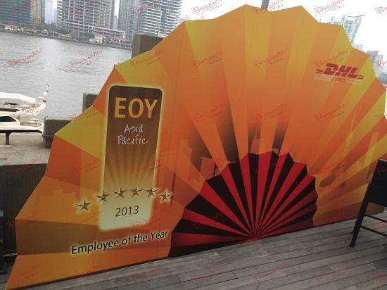 上海舞台木结构背景板搭建
